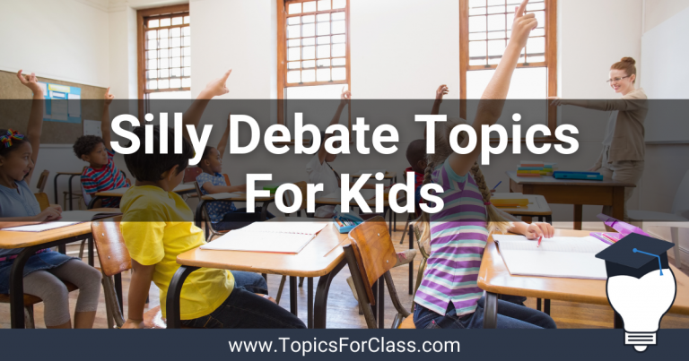 15 Silly Debate Topics For Kids