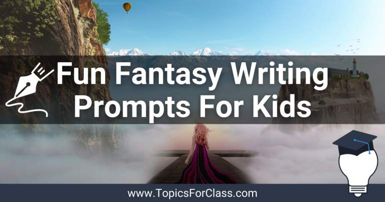 Super Fun Fantasy Writing Prompts For Kids