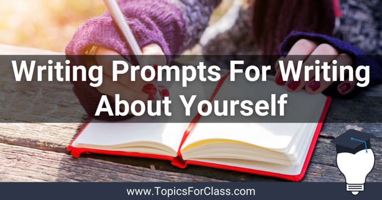 30 Writing Prompts For Writing About Yourself